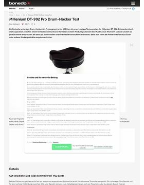 Millenium DT-902 Pro Drum-Hocker