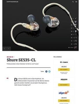 Shure SE535-CL
