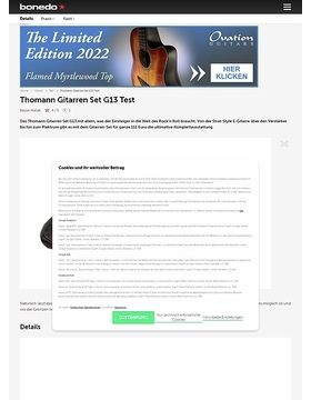 Thomann Gitarren Set G13