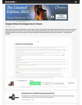 Vergleichstest Einsteigersets E-Gitarre