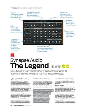 Synapse Audio The Legend