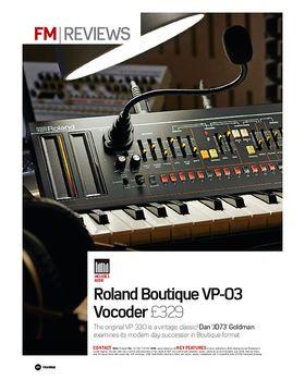 Roland Boutique VP-03 Vocoder