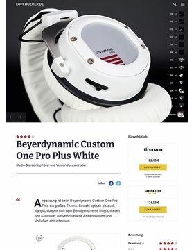Beyerdynamic Custom One Pro Plus WH