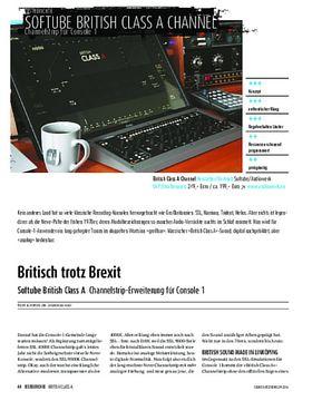 Softube British Class A Channelstrip-Erweiterung für Console 1