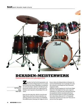 Pearl Decade Maple Drums