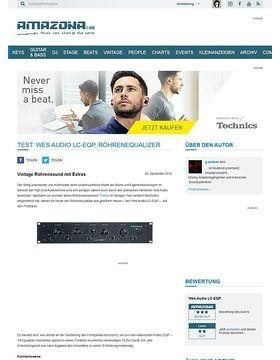 Wes Audio LC-EQP