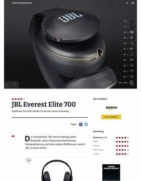 JBL by Harman Everest Elite 700 Black