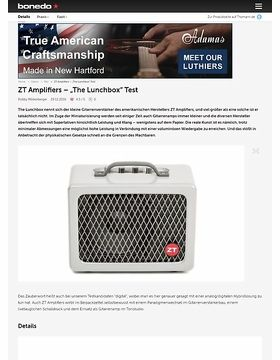 """ZT Amplifiers – """"The Lunchbox"""""""