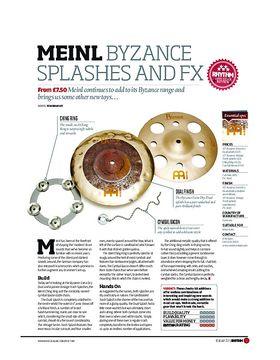 Meinl Byzance Splashes and FX