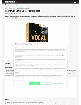 Toontrack EZMix Vocal Toolbox