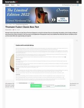 Thomann Fusion Classic Bass