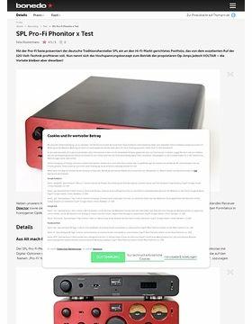SPL Pro-Fi Phonitor x