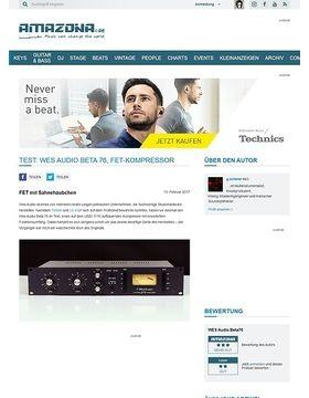 Wes Audio Beta 76
