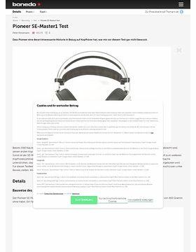 Pioneer SE-Master1
