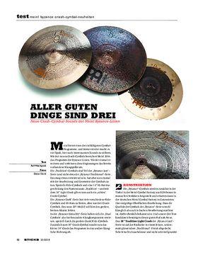 Meinl Byzance Crash-Cymbal-Neuheiten
