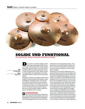 Zildjian S Family Medium Cymbals