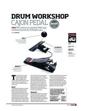 Drum Workshop Cajon Pedal