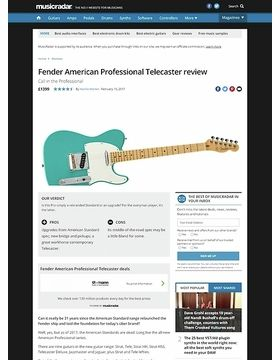 Fender American Professional Telecaster