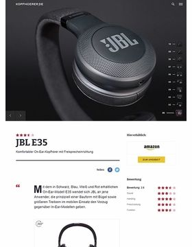 JBL by Harman E35 Black