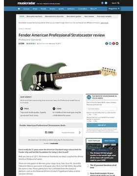 Fender American Professional Stratocaster