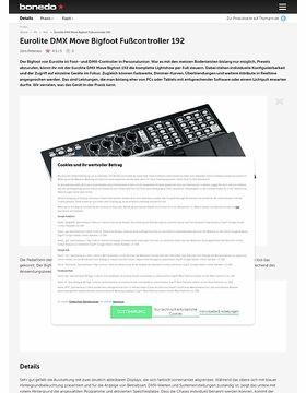 Eurolite DMX Move Bigfoot Fußcontroller 192