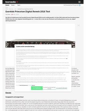 Eventide Princeton Digital Reverb 2016