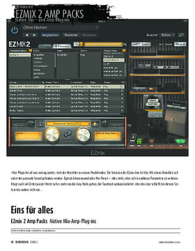EZmix 2 Amp Packs - Native Mix-Amp-Plug-ins