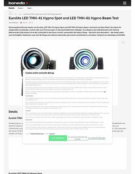 Eurolite LED TMH-41 Hypno Spot und LED TMH-61 Hypno Beam