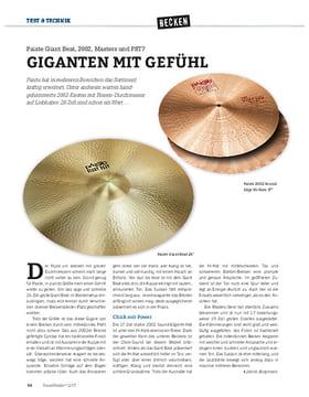 Paiste Giant Beat, 2002, Masters und PST7