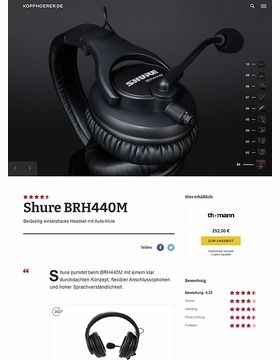 Shure BRH 440M