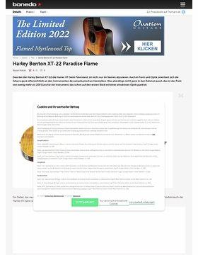 Harley Benton XT-22 Paradise Flame