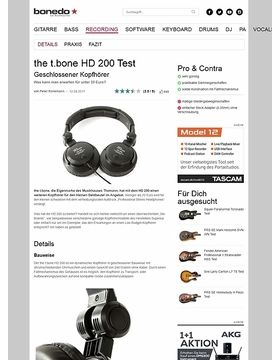 the t.bone HD 200