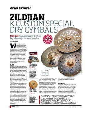 Zildjian K Custom Special Dry Cymbals