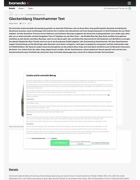 Glockenklang Steamhammer