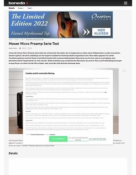Mooer Micro Preamp Serie
