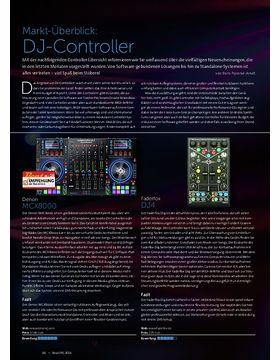 Markt-Überblick: DJ-Controller