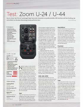 Zoom U-24 / U-44