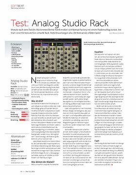 Analog Studio Rack
