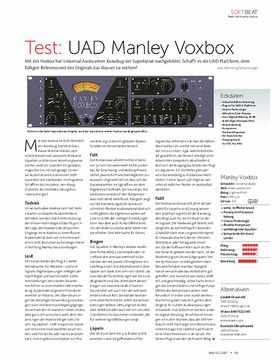 UAD Manley Voxbox