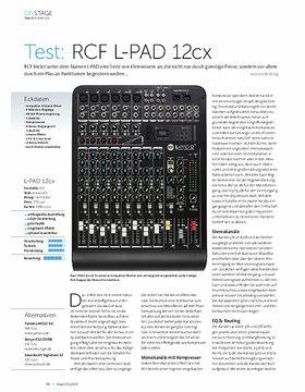 RCF L-PAD 12cx