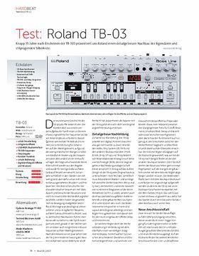Roland TB-03
