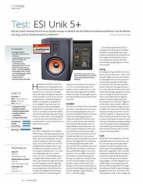 ESI Unik 5+