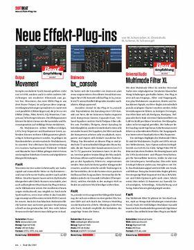 Output Movement, Brainworx bx_console