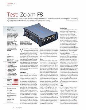 Zoom F8