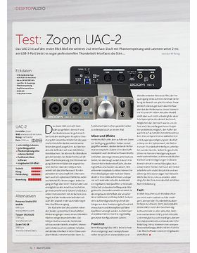Zoom UAC-2, Aston Halo, Røde VideoMic Me
