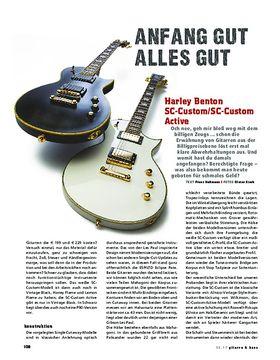 Harley Benton SC-Custom / SC-Custom Active