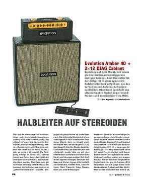 Evolution Amber 40 + 2x12 DIAG Cabinet