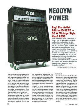 Engl Pro Artist Edition E412AE + 50 W Vintage Style Head E653