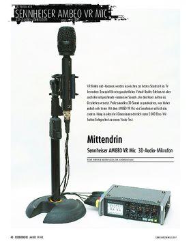 Sennheiser AMBEO VR Mic - 3D-Audio-Mikrofon