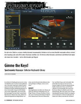 Spectrasonics Keyscape - Collector-Keyboards-Library